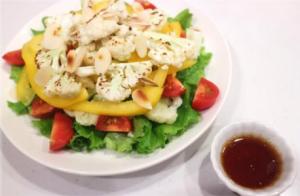 こんがりカリフラワーのサラダ